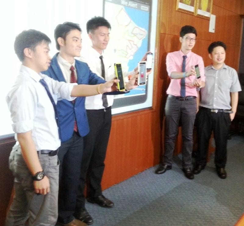 UTM Students Develop Dengue Reporting Mobile Application
