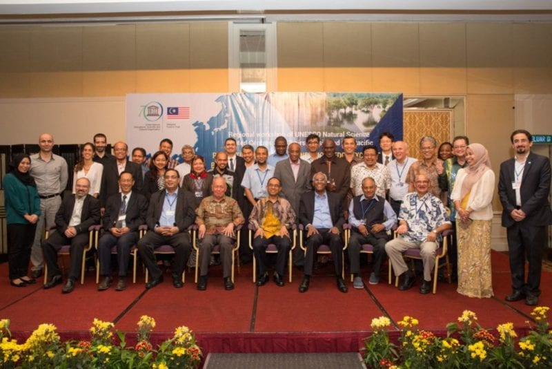 UNESCO-UTM -ISTIC Regional Workshop of UNESCO Natural Sciences Related Centres and Chairs in Asia and The Pacific