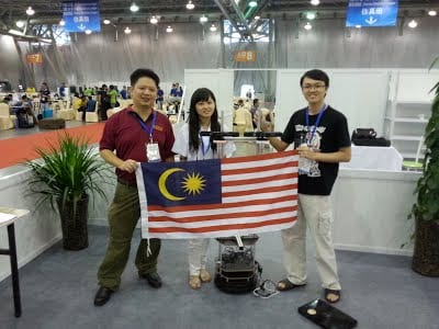 UTM Represented Malaysia in Robocup 2015, Hefei China