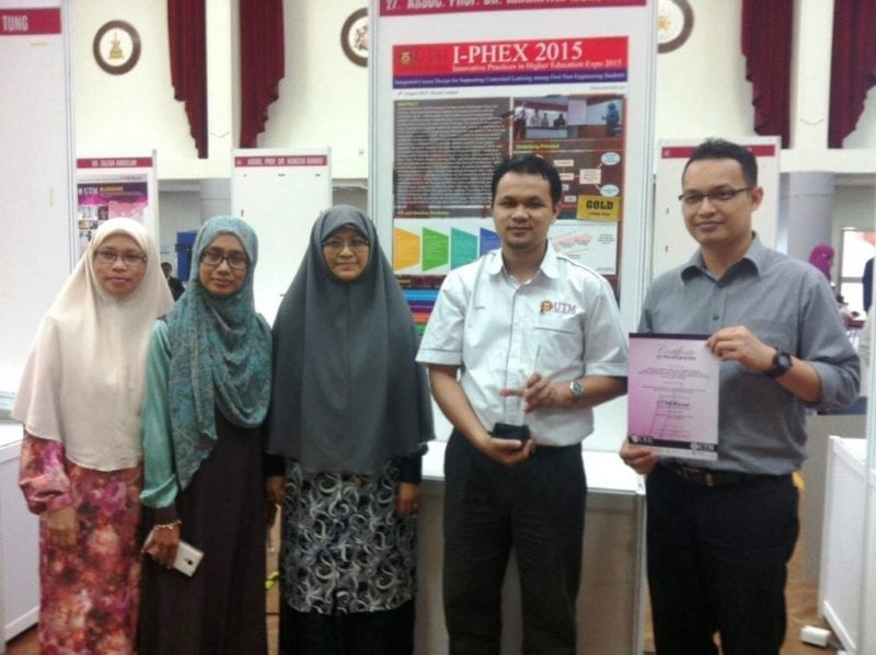 UTM Bagged Best of the Best Award at I-PHEX 2015