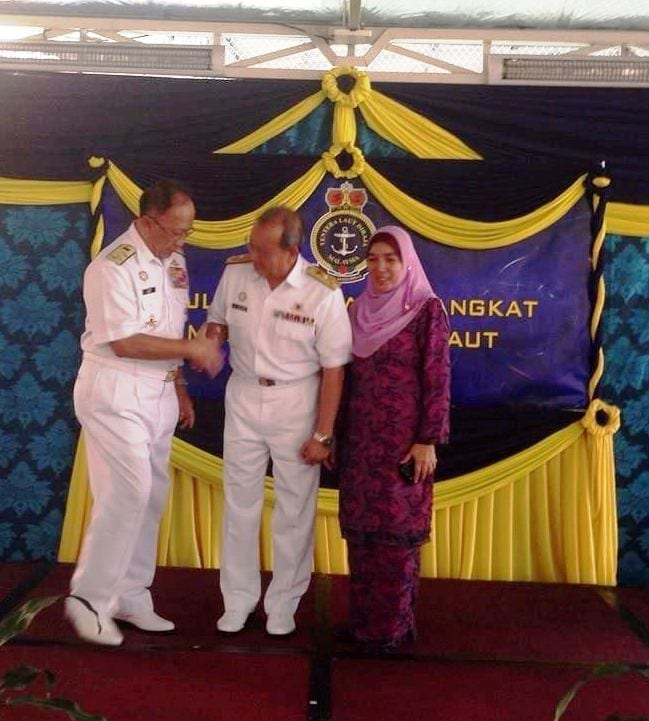 Former UTM Deputy Vice-Chancellor Promoted to the Rank of Rear-Admiral