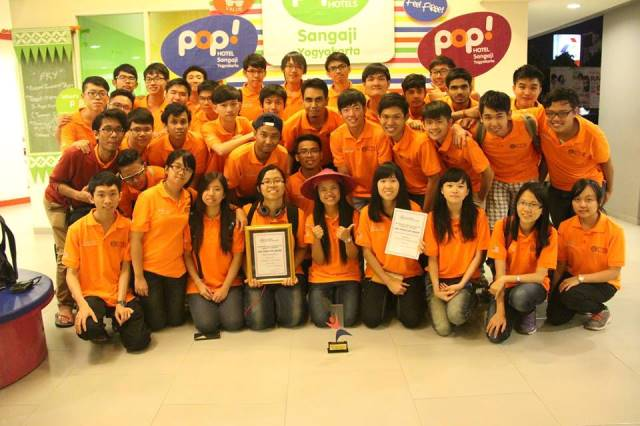 ROBOCON 2015:UTM won Best Design Award