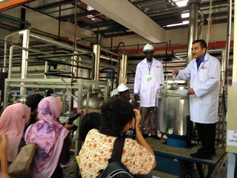 IBD and OPCW collaborate in organizing the natural products chemistry development programme
