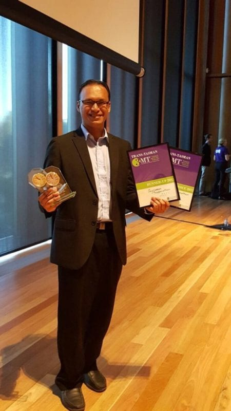 UTM Graduating Student Wins 2 Awards at the International Trans-Tasman 3-Minute Thesis Competition (3MT) Held in Australia