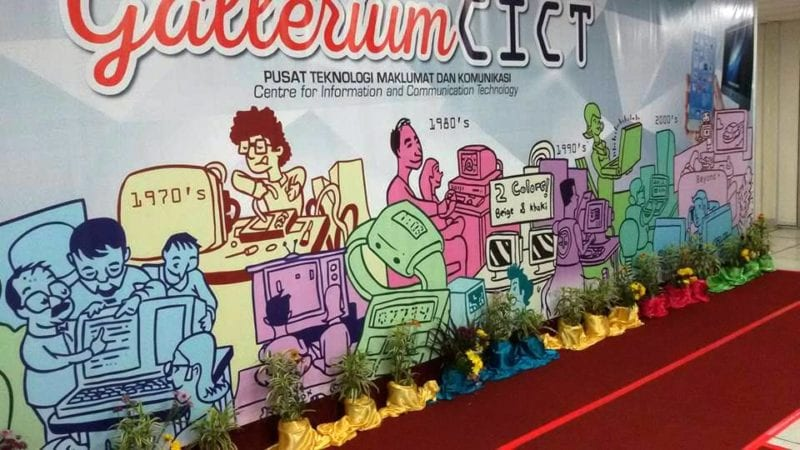CICT Galleria Launched at the CICT's Open Day 2015