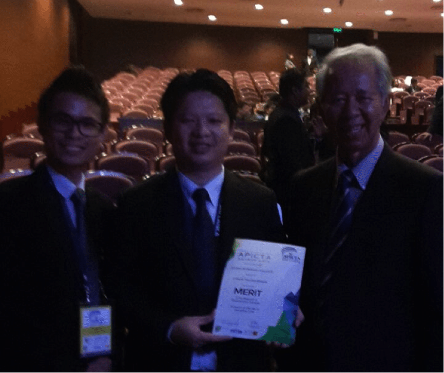 UTM Compact Rehabilitation Robot (CR2) Wins MERIT Award in the R&D Category @ APICTA Awards 2015