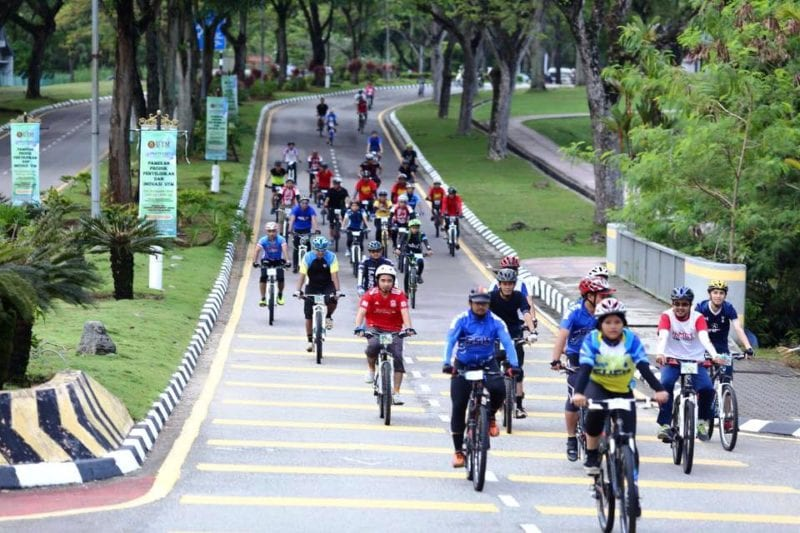 UTM Ecotourism Fun Ride 2015 Attracted More than 300 Cyclists
