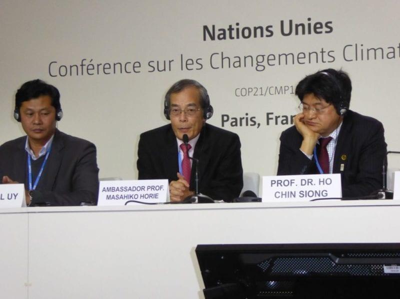 UTM Made an Indelible Impression at COP21 Paris 2015