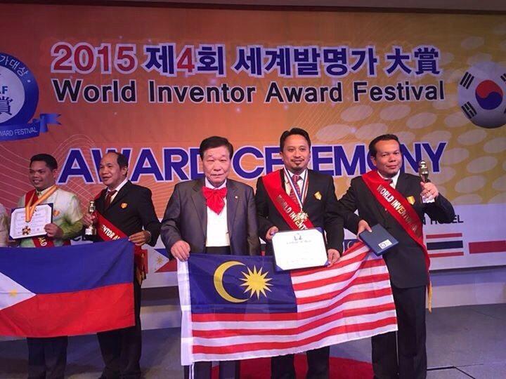 UTM MaGIC-X Inventors Recognised at the World Inventor Award Festival 2015