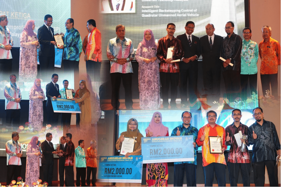 UTM Receives Two Innovation Awards from MOHE