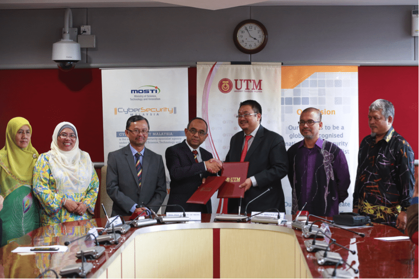 UTM and CyberSecurity Malaysia to Develop an Integrated Cyber Evidence (ICE) Infrastructure
