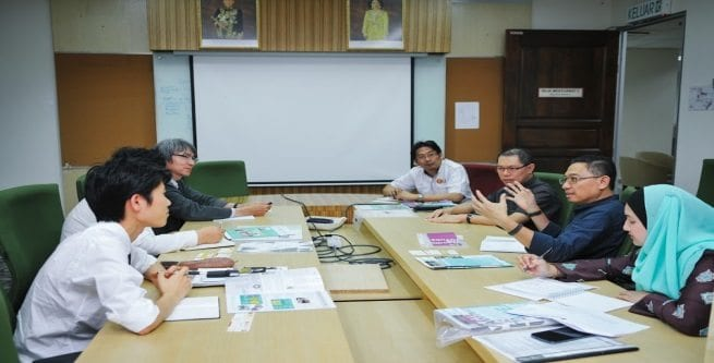 Tsukuba University Discusses Possible Collaboration with UTM MJIIT