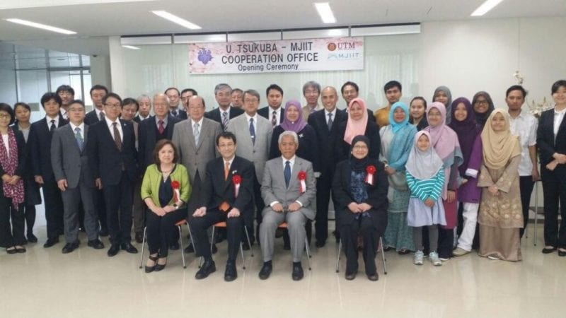 Establishment of University of Tsukuba-MJIIT UTM Cooperation Office in Japan