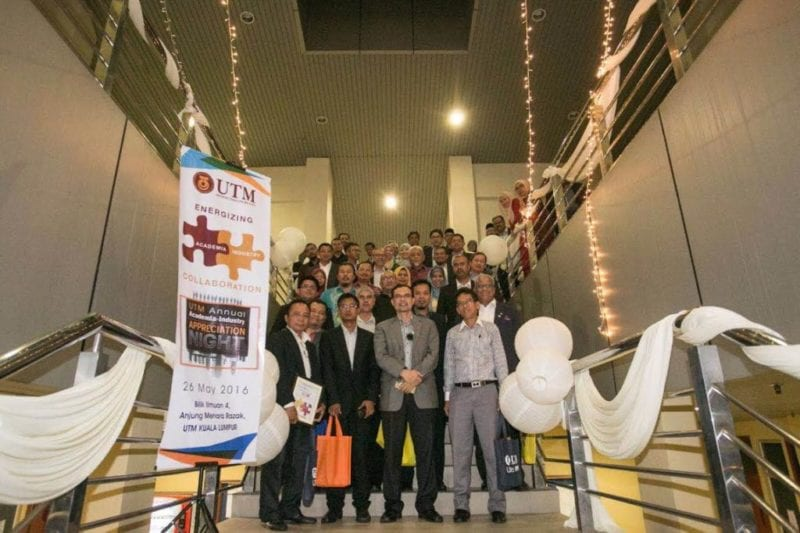44 UTM Industrial Partners attended Academia-Industry Appreciation Night