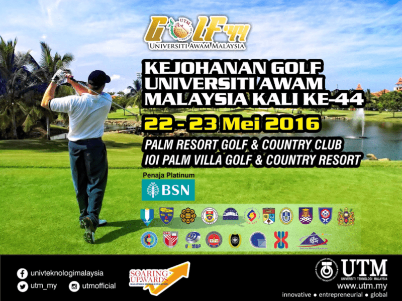The 44th University Golf Championships