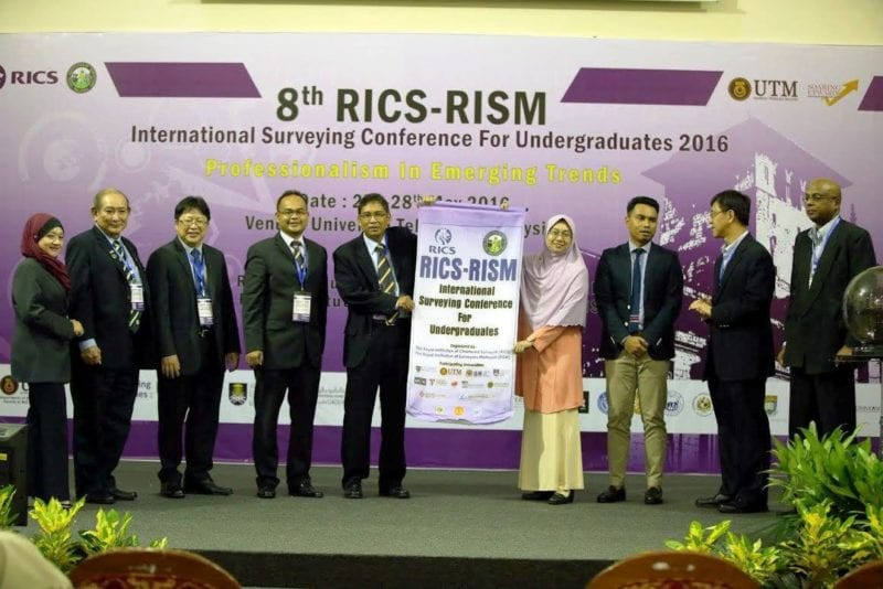 UTM students excelled at the 8th RICS-RISM International Surveying Conference for Undergraduate 2016
