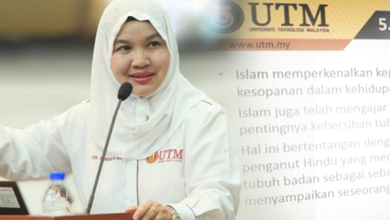 UTM Forms Investigation Committee on Controversial Slide Content