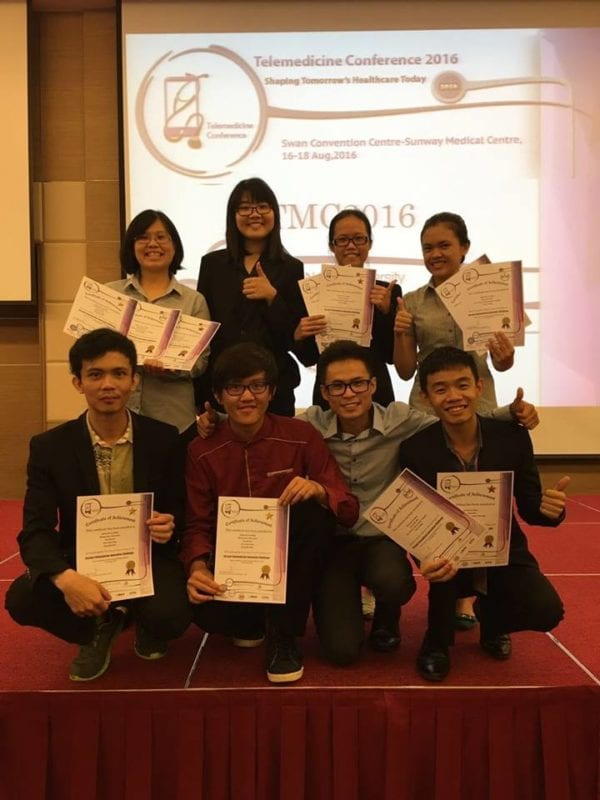 UTM bags three awards at the Telemedicine Innovation Challenge 2016
