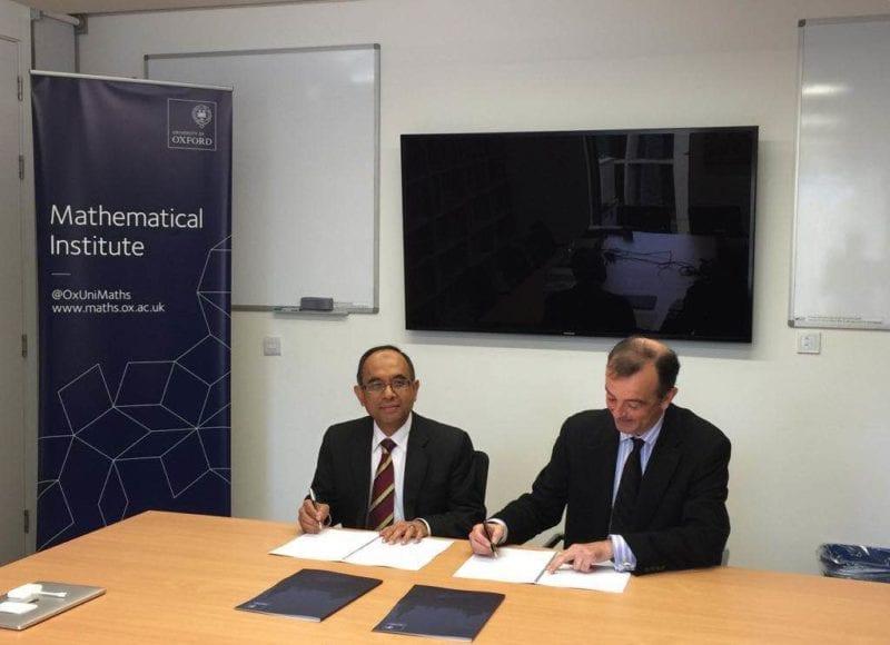 MOU Renewal between Universiti Teknologi Malaysia and University of Oxford: collaboration of UTM-CIAM and OCIAM
