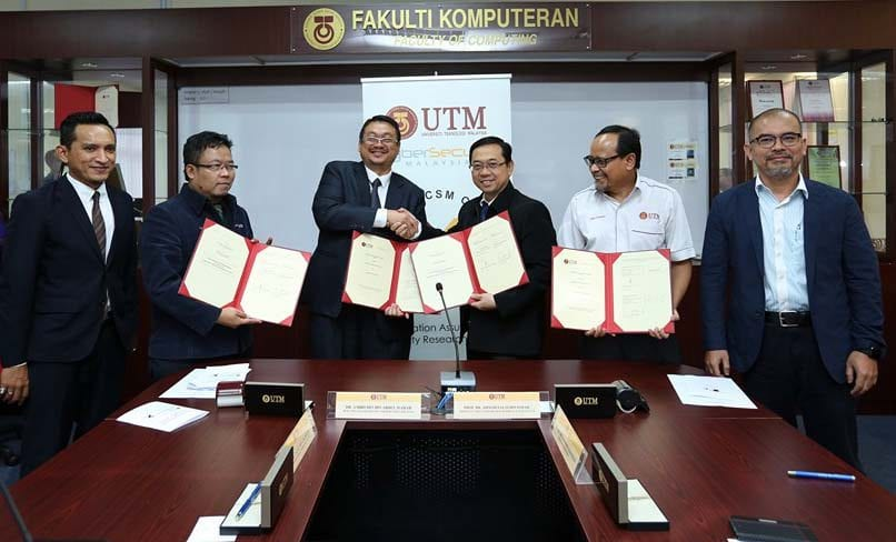 UTM-CSM working on Cyber Threat Intelligence System