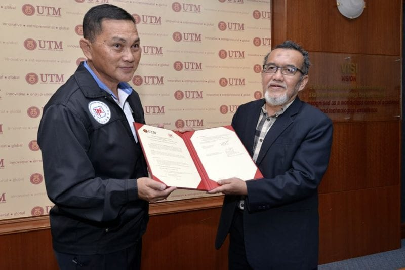 Memorandum of Understanding (MoU) and Memorandum of Agreement (MoA) between KALAM UTM and PPCK