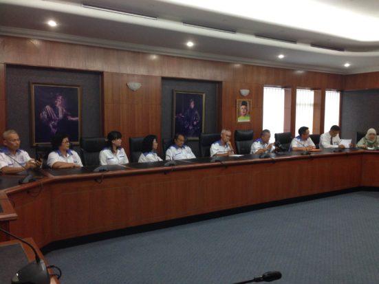 Delegasi Persatuan p[eranakan Cina Kelantan.