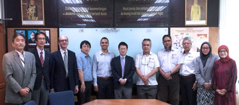 Potential research collaboration between UTM and Mitsubishi Heavy Industries