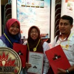 UTM Researchers win GOLD Award at iCAN 2016
