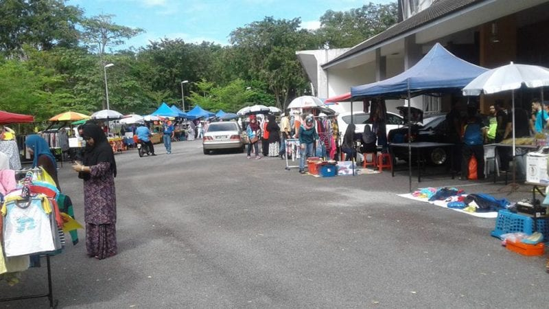 KKFKA organizes car boot sale