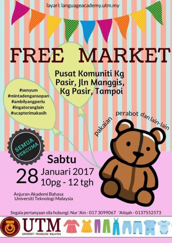 Language Academy organised Free Market