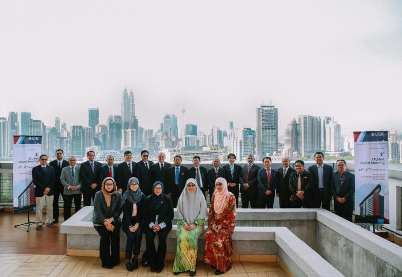 1st ATU-Net Board Meeting at UTM