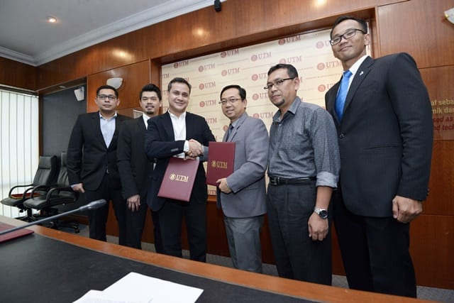 UTM and HGIS collaborate in oil and gas field