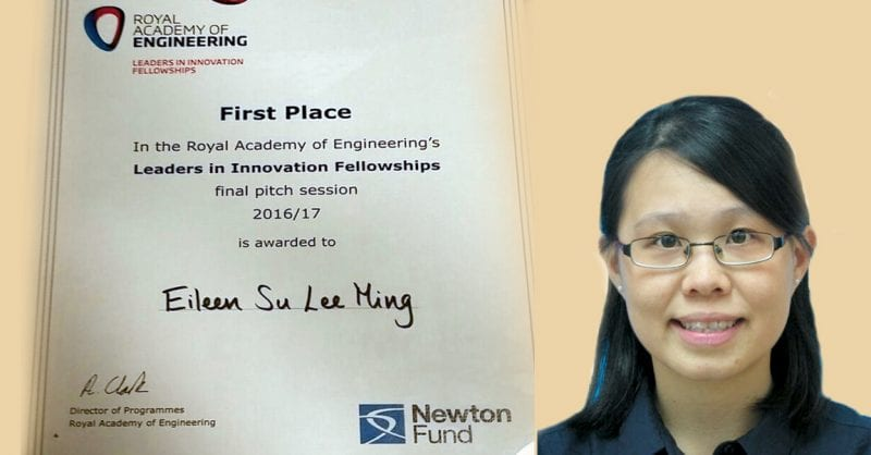 Congratulations to Dr. Eileen Su Lee Ming