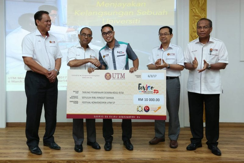 Giving to UTM is now a culture among UTM students