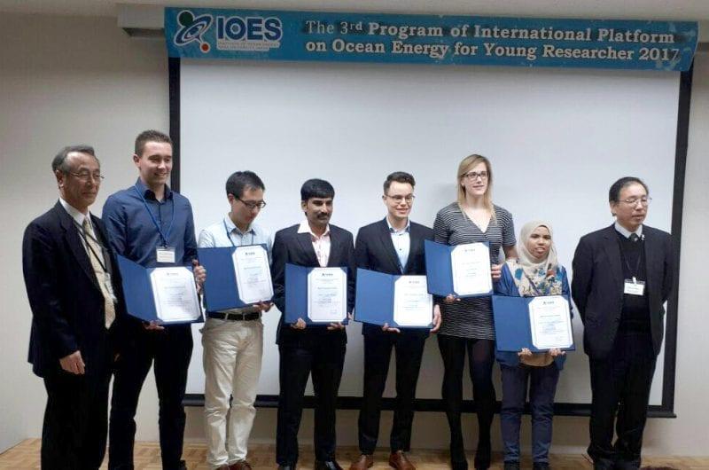UTM PhD Student Received Best Presentation Award in Kyushu, Japan