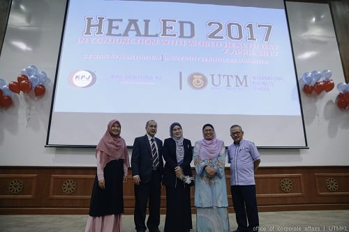 KPJ Sentosa KL Specialist Hospital Launches HEALED 2017 In Collaboration With UTM International Business School