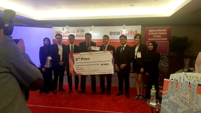 UTM win Malaysian Structural Steel Association Open Ideas Competition 2017