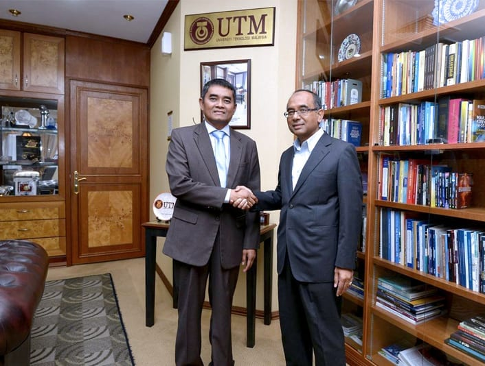 Prof. Dr. Razali Mahmud appointed as the new Dean of Faculty of Geoinformation and Real Estate