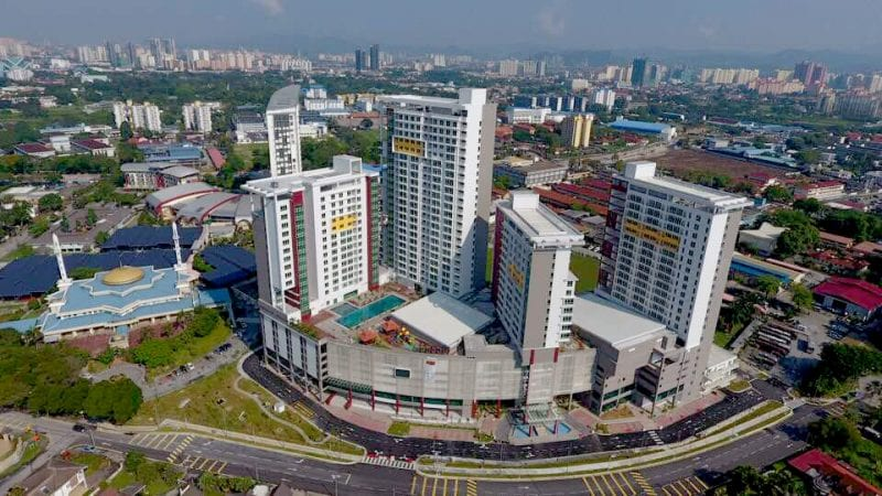 UTM Student Residential Complex offers complete self-contained accommodation