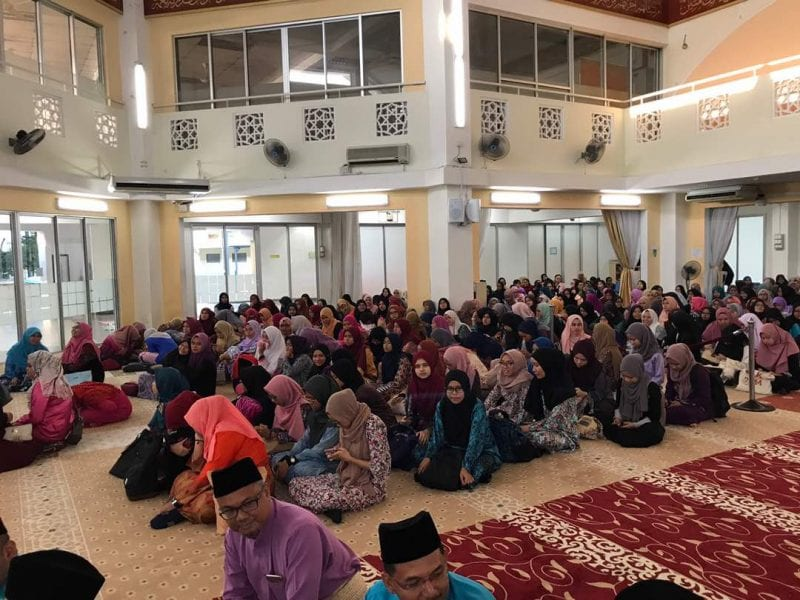 UTM Iftar with newly-registered UTMSpace Diploma students in UTM KL