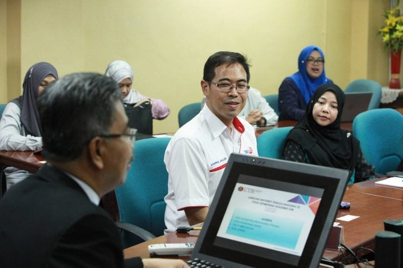 UTMLead received a visit from a delegation from UNITEN