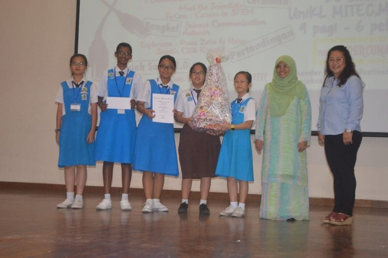 """Saintis Cilik Kreatif"" Competition: Science of daily life, explained!"
