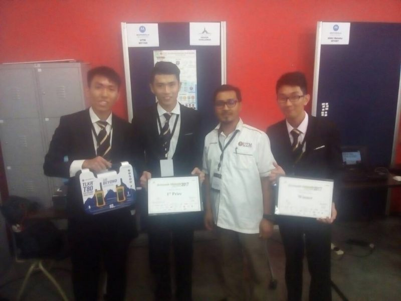 UTM the grand winner of Innovate Malaysia Design Competition 2017