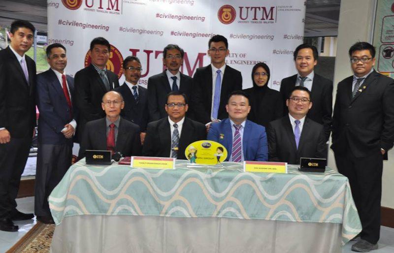Memorandum of Understanding (MoU) between UTM FKA and CSDC Academy Sdn. Bhd.