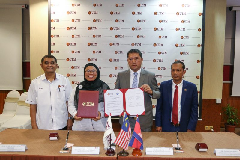 Faculty of Geoinformation and Real Estate (FGHT), UTM Inks MoU with Cambodian Valuers and Estate Agents Association (CVEA)