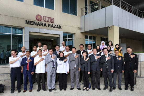 Faculty of Geoinformation and Real Estate (FGHT), UTM Inks MoU with
