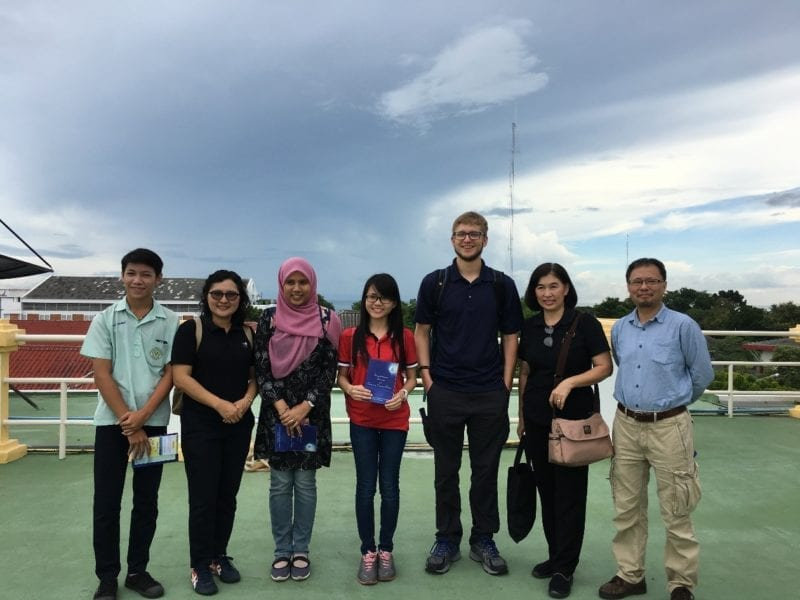 Research visit to King Mongkut's Institute Technology of Ladrabang (KMITL)