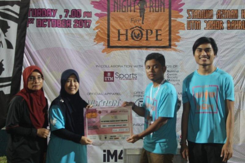 UTM Night Run for Hope 2017: A Marathon for children's home of hope
