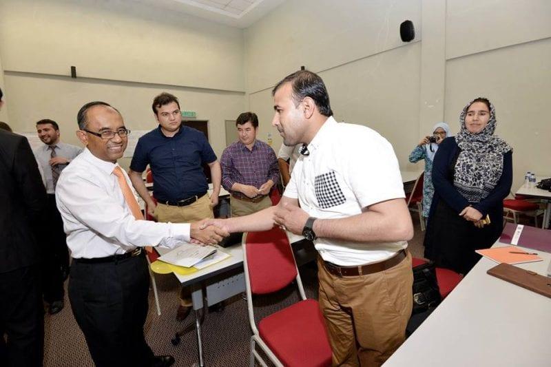 CEE UTM latih tenaga pengajar dari Afghanistan