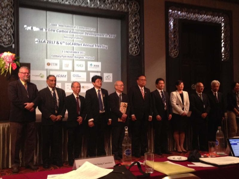 UTM-LCARC Co-organises High Profile 3rd International Conference of Low Carbon Asia and 6th LoCARNet Annual Meeting